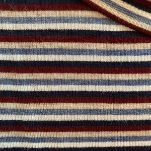 Francesca's Collections Tops - Striped Turtle Neck Tank Top